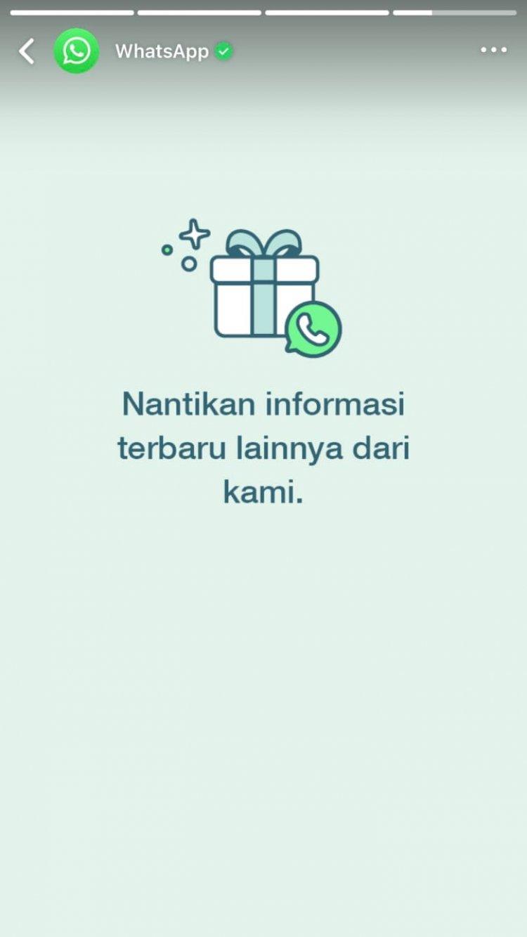 Nyeleneh, Whatsapp Bikin Story Whatsapp