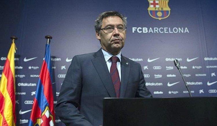 Josep Maria, Mantan Presiden Barcelona Ditangkap Polisi