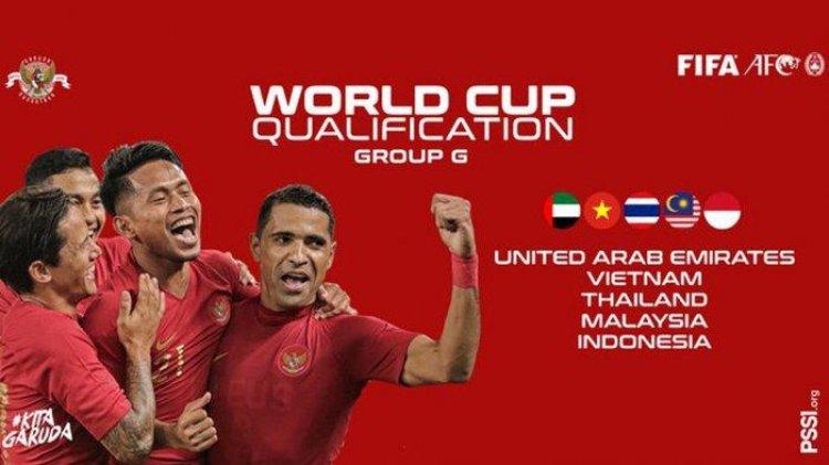 Sisa jadwal Kualifikasi Piala Dunia keluar, Timnas Indonesia sudah dipastikan tak lolos