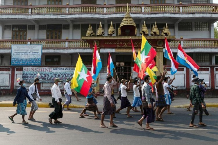 Junta Militer Myanmar Ancam Pecat Guru yang Ikut Demonstrasi