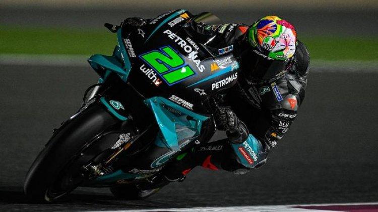 Hasil Tes Bebas MotoGP Qatar: Morbidelli Paling Cepat, Rossi Posisi Sembilan