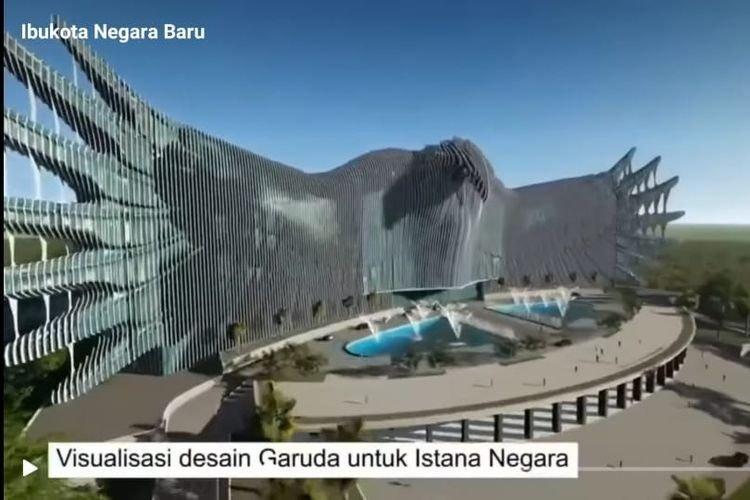 Ayo Intip Desain Garuda Untuk  Istana Negara Di Kalimantan