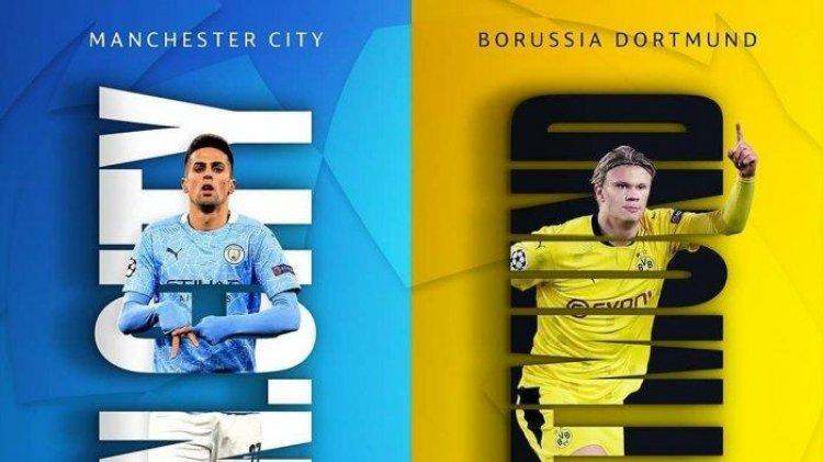 Penuh Kontroversi, The Citizens Berhasil Kalahkan Dortmund