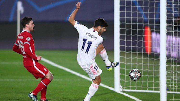 Madrid Tampil Garang, Pukul The Reds di Leg Pertama
