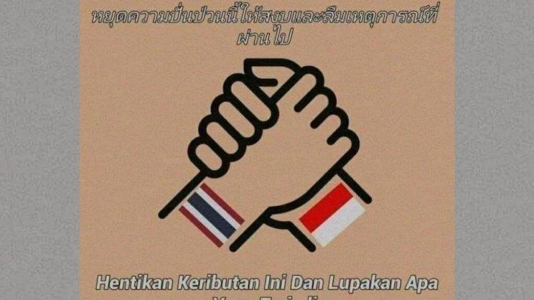 RIbut ! Hashtag Indonesia Say Sorry For Thailand Menjadi Trending di Twitter