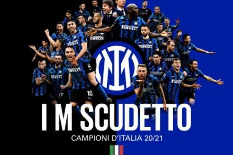 Juara Liga Italia, Inter Milan Hentikan Langkah Juventus