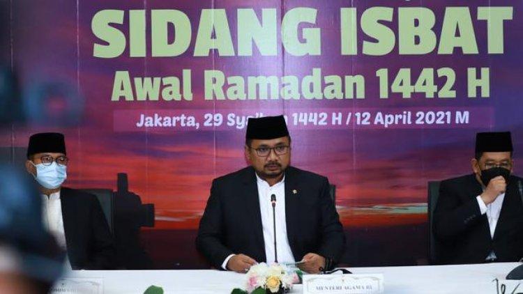 Kementerian Agama Akan Gelar Sidang Isbat Penentuan 1 Syawal Besok