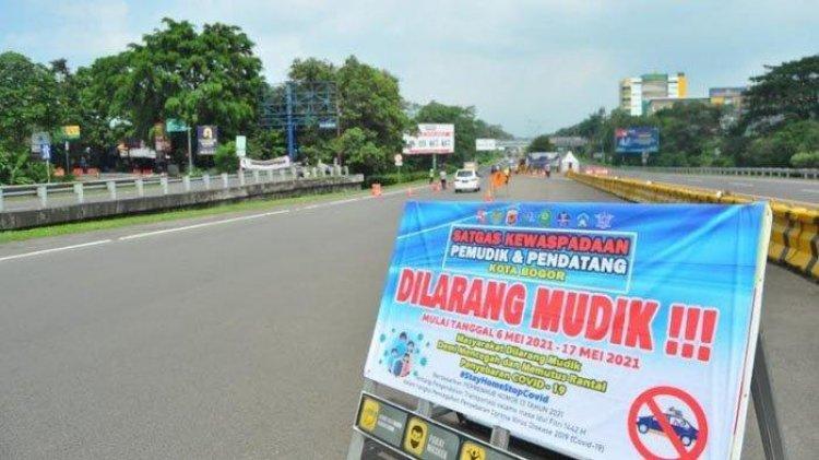 Keputusan Politik Negara , Mudik Lokal Dilarang