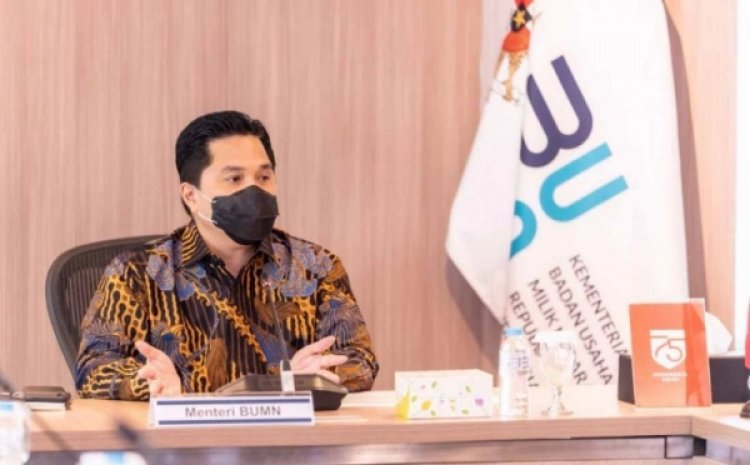 Erick Thohir Pecat Seluruh Direksi Kimia Farma Yang Terkait Kasus Antigen Bekas