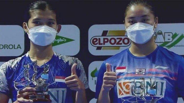 Indonesia Raih 4 Gelar Pada Tournament Spain Masters 2021