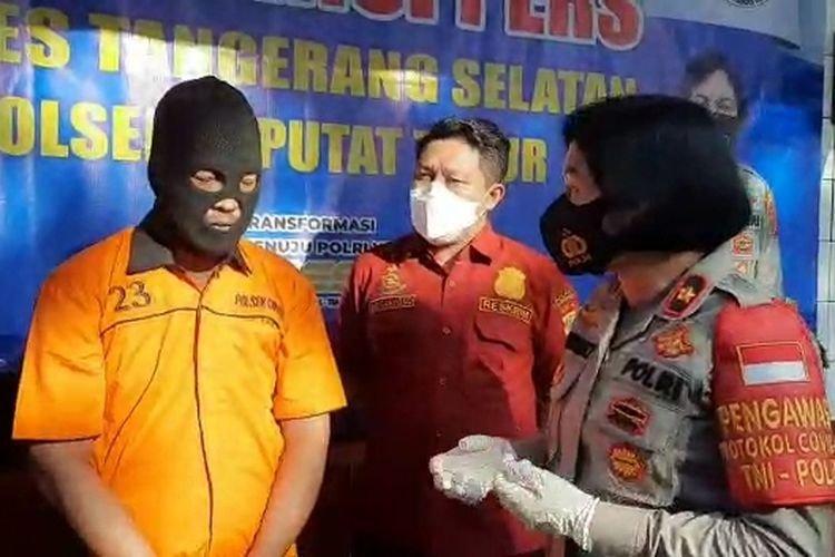 Pria Yang Mengancam Kurir COD Di Ciputat Akhirnya Ditangkap Polisi