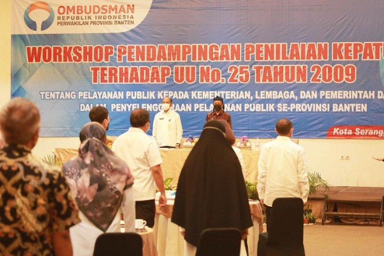 Pemprov Banten Dorong Peningkatan Pelayanan Publik, Demi Kemudahan Masyarakat
