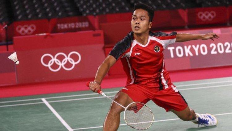 Anthony Sinisuka Ginting Harus Terhenti Di Babak Semifinal Badminton Olimpiade Tokyo 2020