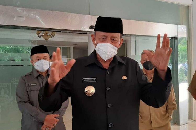 Wahidin Halim Tolak Honor Satgas Covid-19 Rp 25 Juta Perbulan