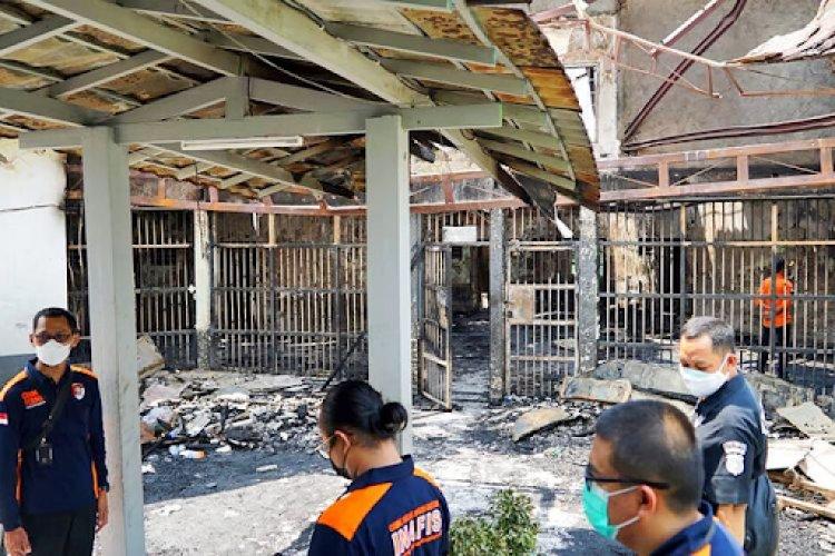 Usai Kebakaran, Kemenkumham Evaluasi Lapas Tangerang